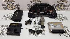 05 AUDI A4 B7 2.0 FSI ALT ENGINE ECU KIT WITH 2 KEY'S 8E0909557R / 8E0 909 557 R