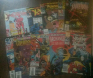 What If #35 Lot Of 10 Marvel Comics Daredevil, Elektra, Punisher, Venom, X-Men +