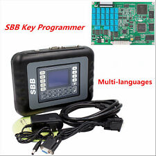 New SBB Car Key Programmer Transponder V33.02 Multi-languages Diagnostic Tools
