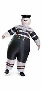 Tweedle Dee Dum Inflatable Alice Through Looking Glass Halloween Adult Costume