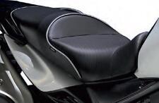 SARGENT WS-631-18 MOTORCYCLE SEAT BLACK SILVER SUZUKI V-STROM 650