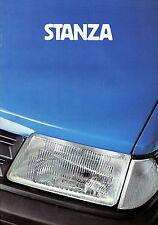 Prospekt Datsun Nissan Stanza 1981 Autoprospekt 9 81 Auto Pkw Japan brochure
