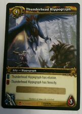 World of Warcraft Thunderhead Hippogryph LOOT Unused Hatchling UNSCRATCHED WOW