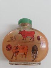 Tabatière à priser chinoise à identifier / snuff bottle inside painting