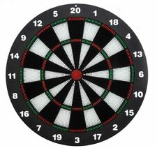"16"" Dart Board Kids Toy Dartboard Family Party Play Fun Soft Tip Safety 6 Darts"
