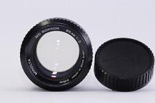 [EXC+++++!!] Minolta MD Rokkor 85mm f2 MF Lens from JAPAN #819