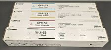 Canon Genuine Toner Set GPR-53 - CMYK