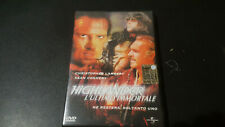 DVD HIGHLANDER L'ULTIMO IMMORTALE CHRISTOPHER LAMBERT OTTIMO