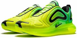 🔥 Nike Air Max 720 Volt Green Neon Glow Casual Gym Shoes AO2924-701 Size 10.5
