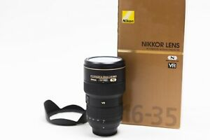 Nikon AF-S NIKKOR 16-35mm f/4G ED VR Zoom Lens - Excellent Condition