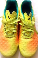 NIKE - scarpe da calcio - colore giallo con sfumature arancioni - N° 40 - USATE