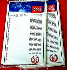 Set Of 2 packs Good Cook Parchment Paper Baking 12 x 16 16pc