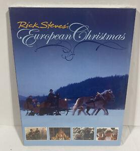 Rick Steves' European Christmas DVD, 2005 holiday travel celebration Sealed