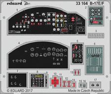 Eduard Zoom 33164 1/32 Boeing B-17E/F Flying Fortress HK Model