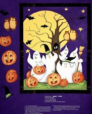 Ghost Story Halloween Panel Cotton Quilting Fabric - Steele Creek Studio