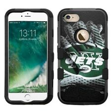 for iPhone 8 Rugged Rubber+Hard Hybrid Case New York Jets #Glove