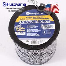 "Husqvarna OEM String Trimmer Line String 5lbs Spool .095"" 1427' 639005109"
