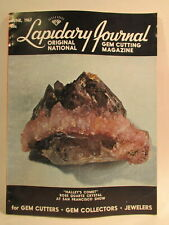 Lapidary Journal Magazine 1967 June Halley's Comet Rose Quartz Crystal at San.