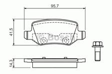 Bremsbelagsatz Scheibenbremse - Bosch 0 986 494 023