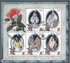 New Zealand Christmas 2018 min sheet fine used cto