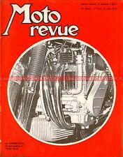 MOTO REVUE 1965 MUNCH 1200 TTS Mammouth CZ 125 VELOCETTE MONTESA INDIAN 1970
