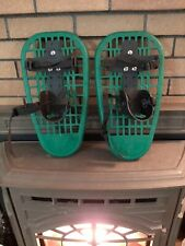 """L.L.Bean Little Bear Grizzly Snowshoes Green Youth 16"""" Bear Cubs"""