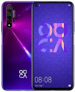 "HUAWEI Nova 5T 128GB/6GB 6.26"" LCD, 48MP Quad Camera GSM Unlocked Global, Purple"