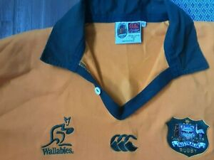 1996 Wallabies Canterbury jersey #17,size XL