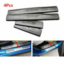2012-2016 For Mazda CX-5 CX5  Inner Door Stainless Threshold Sill Scuff Plate
