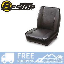 Bestop TrailMax 2 Classic Low Back 76-06 Jeep CJ5 CJ7 Wrangler Black Crush Vinyl