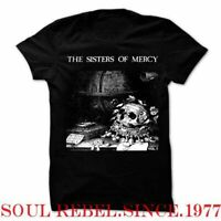THE SISTERS OF MERCY GOTHIC  PUNK ROCK  MEN'S SIZES  T SHIRT