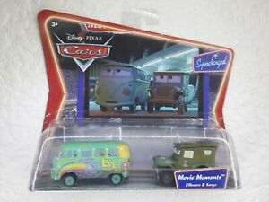 Disney Pixar Cars Movie Moments Fillmore & Sarge Diecast Vehicles