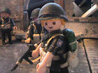 PLAYMOBIL CUSTOM US.PFC.2ND RAIDER BATTALION (MAKIN ISLAND-1942) REF-0184 BIS