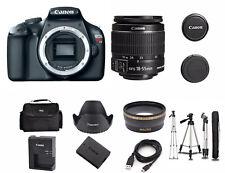 Canon EOS Rebel T3 12MP DSLR Camera with 18-55mm Lens Kit 5157B002 + Tripod!
