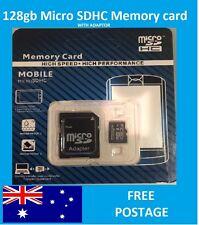 128gb Micro sd SDHC Memory Card Class 10 with Adapter- Australian SD