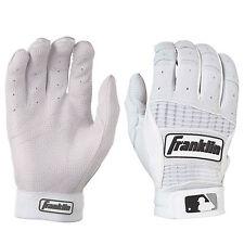 Franklin Neo Classic II Adult Baseball Batting Gloves Pearl/White Medium