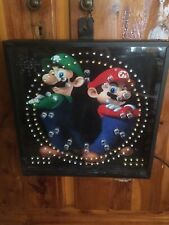 no NINTENDO, GAMERS Wall Clock Analog/digital, Mario/link,sounds And Alarms LOOK