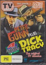 PETER GUNN - DICK TRACY - 4 CLASSIC EPISODES - DVD
