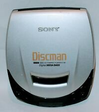 SONY DISCMAN D-191 Portable Personal CD Player Tested Works