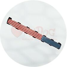 Coaterz Stars and Stripes 2.25mm Prong Collar Cover 31cm/12 inch by Petlando