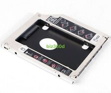 SATA 9.5mm 2nd Hard Drive HDD SSD Tray Caddy For Apple Macbook Pro Optical Drive