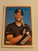 Roberto Alomar 1988 Topps Traded #4T First Rookie Rc HOF