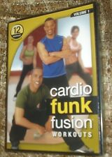 CARDIO FUNK FUSION WORKOUTS VOLUME 1 12 MINUTE WORKOUT DVD, NEW AND SEALED,RARE!