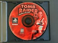 Tomb Raider II Starring Lara Croft (Sony PlayStation 1, 1997) DISC ONLY TESTED!!