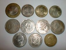 INDIA COIN LOT - 11 COMMEMORATIVE COINS - GREAT MEN-SOME RARE-1964-2015# 11BKii2