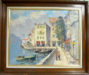 G. W. HILL! SCENERY FROM A CITY AT COMO LAKE IN ITALY