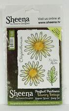 SHEENA DOUGLASS MAJESTIC MUMS Stamp Set PERFECT PARTNERS COUNTRY COTTAGE no dies