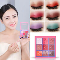 Womens Cosmetic Matte Eyeshadow Cream Palette Shimmer Set Makeup Eye shadow Set
