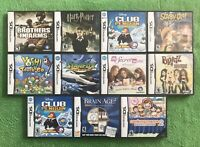 Lot Of 11 Used Nintendo 3DS CASES with Inserts & manuals Only NO GAMES & GIFT!