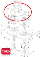 Genuine TORO DH140 Cutter DRIVE BELT (drives the blades) 119-2425 610